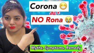 CORONA-VIRUS से डरो ना | <span class='mark'>Covid</span>-19 Myths, Facts, Symptoms | JSuper Kaur