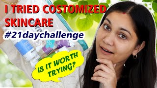 I tried TheDermaco Customized skincare | #21daychallenge | Nidhi Katiyar