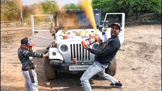 Biggest HOLI STASH 2020 In India [colour smoke, gulal tank, extinguisher]