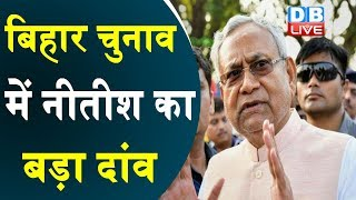 बिहार चुनाव में Nitish Kumar  का बड़ा दांव |जनता को साधने में जुटे नीतीश कुमार | Bihar election news