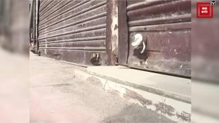 जम्मू में 'Lockdown' से बाजारों में पसरा सन्नाटा, रघुनाथ मंदिर के कपाट भी बंद