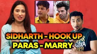 Mahira Wants To Hook Up With Sidharth And Marry Paras | FUNNY Game