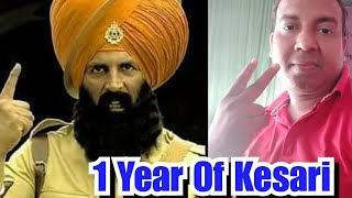 1 YEAR OF KESARI, Akshay KUMAR'S BEST patriotic Film #LIVE