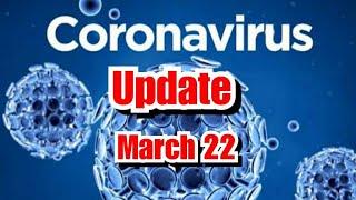 Coronavirus INDIA UPDATE MARCH 22, 2020