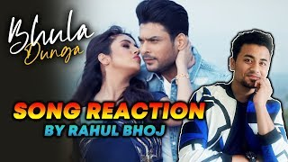 BHULA DUNGA Song Reaction | Sidharth Shukla And Shehnaz Gill | SIDNAZ | Darshan Raval