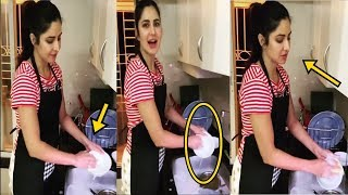 Katrina Kaif Washing Plates In Absence Of KaamWali Bai | 24 March 2020 | News Remind