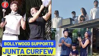 Amitabh Bachchan, Akshay Kumar, Hrithik Roshan, Aishwarya Rai, Shilpa Shetty Support Junta Curfew