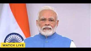 आज रात 12 बजे से 21 दिन तक देश में लॉकडाउनः  PM मोदी