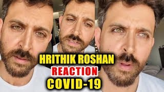 Hrithik Roshan STRONG Reaction On Indian's Over LOCK DOWN