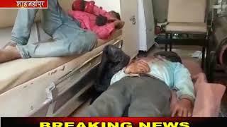 Shahjahanpur | ससुराल से लौटते वक्त बाइक दुर्घटनाग्रस्त, युवक की मौत,दो रिश्तेदार गभीर घायल | JAN TV