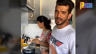 Arjun Bijlani Cooking At Home With Family During India Lockdown