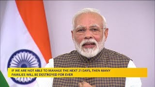 All India Lock Down Till 14 April | Pm Modi Speaks Live To All The Indians | @ SACH NEWS |