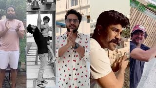 Tollywood Celebrities Clapping | Janata Curfew | Clap For The Nation | Jr NTR, Ram Charan, AlluArjun