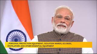 PM Modi's address to the nation on vital aspects relating to COVID-19 menace