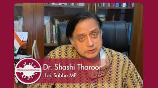 COVID-19: Dr. Shashi Tharoor's message to PM Modi