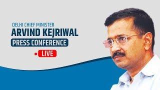 CM Arvind Kejriwal addresses people about Covid-19 in Delhi | LIVE
