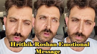 Hrithik Roshan Emotional Message On Coronavirus । 24 March 2020 | News Remind
