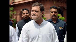 Corona stimulus package: Rahul Gandhi hails govt's financial assistance to poor