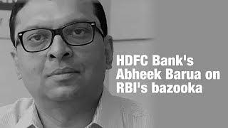 RBI's bazooka: Here's how HDFC Bank's Abheek Barua broke it down   ETMarkets