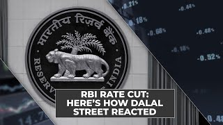 Did RBI rate cut not go down well on D-Street?