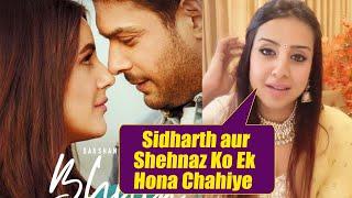 Sidharth-Shehnaz BHULA DUNGA Song Reaction By Sanjana Galrani  Mujhse Shaadi Karoge Fame