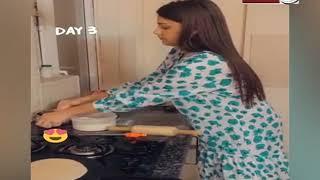 रोटियां बनाती दिखीं Asim Riaz की लेडी लव Himanshi Khurana