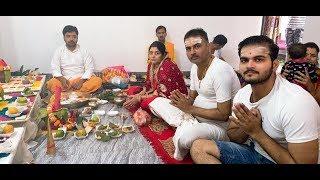 जनता कर्फ्यू के दिन Arvind Akela Kallu ने किया परिवार के साथ पूजा