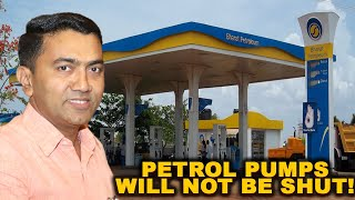 Petrol Pumps Will Not Be Shut! WATCH CM's Important Message On What Will Be Shut For Next 3 Days