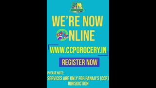 CCP now starts online grocery store. Order online at www.ccpgrocery.in