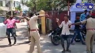 Police Gives New Car Party to Owner | Outbreak | Lockdown India | Top Telugu TV
