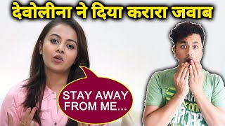 Devoleena Bhattacharjee GIVES Befitting REPLY To The Haters; Here Is What She Said
