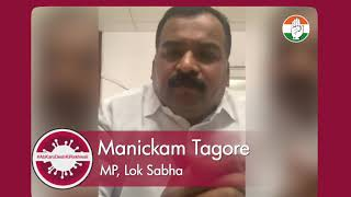 COVID-19: Manickam Tagore's message to PM Modi