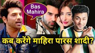 Paras Chhabra REACTION On Marrying Mahira Sharma; Here's What He Said
