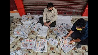 Coronavirus pandamic: Newspapers are safe to touch, WHO confirms