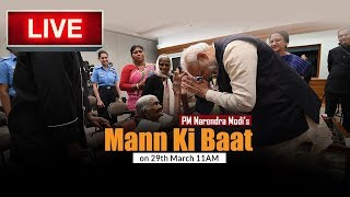 Watch Live | Prime Minister Narendra Modi's Mann Ki Baat with the Nation | 29 March 2020