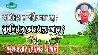 Allama Delwar Hossain Saidi Bangla waz Mahfil | Saidi Tafsirul Quran Mahfil Bangla | Islamic BD
