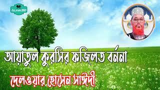 Saidi Saheb Waz Video | আয়াতুল কুরসীর ফজিলত বর্ননা । Tafsirul Quran Mahfil Bangla | Islamic BD