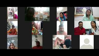 Shree Durga Kawach though Video conference
