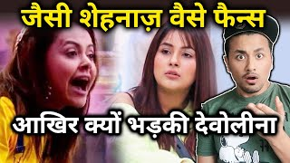 Devoleena ANGRY Reaction On Shehnaz And Her Fans; Here's What She Said