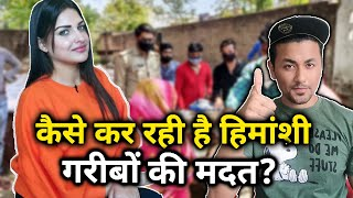 Himanshi Khurana Helping Poor People In This Situation; Here's How