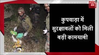 North Kashmir में सुरक्षाबलों ने आतंकी ठिकाना किया ध्वस्त, गोला-बारूद बरामद