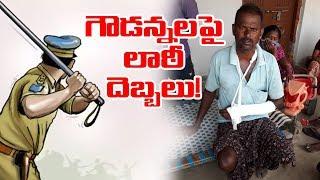 Chityal SI of Police Bad Behavior on Village Goud People   Loackdown Telangana   Top Telugu TV