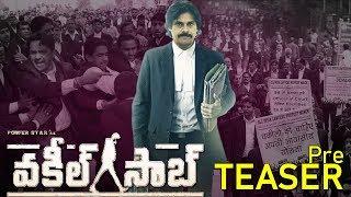 Pawan Kalyan's Vakeel Sab Pre Teaser | SriRam Venu | SS Thaman | Top Telugu TV