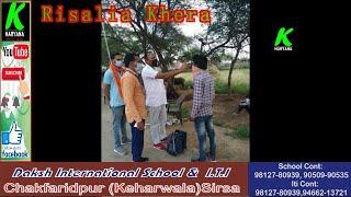 रिसालिया खेडा के नाके पर चेकअप का नया तरीका, देखें 5 गांवों की लाॅकडाउन रिपोर्ट l k haryana l