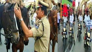 Hyderabad Police | Cp Anjani Kumar | Corona Virus Special Arrangements In Hyderabad |
