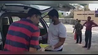 Daily Food Distribution By Osman Mohd Khan Is Still Going On In Hyderabad |