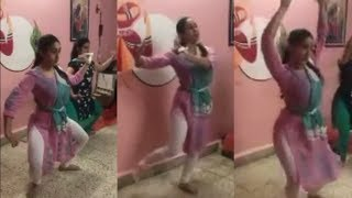 Sara Ali Khan Classical Bharatnatyam Dance Practice In Lockdown | 2 April  2020 | News Remind