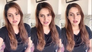 Zareen Khan Message On Coronavirus । 2 April  2020 | News Remind