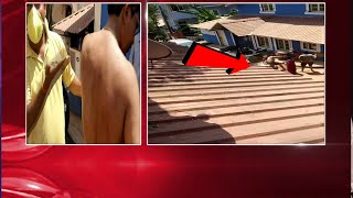 Watch: Mala neighbors fight over property issue!