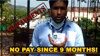 WATCH: PWD Contract Workers Haven't Received Payment Since 9 Months!